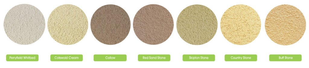 Stone Effect Render Colours